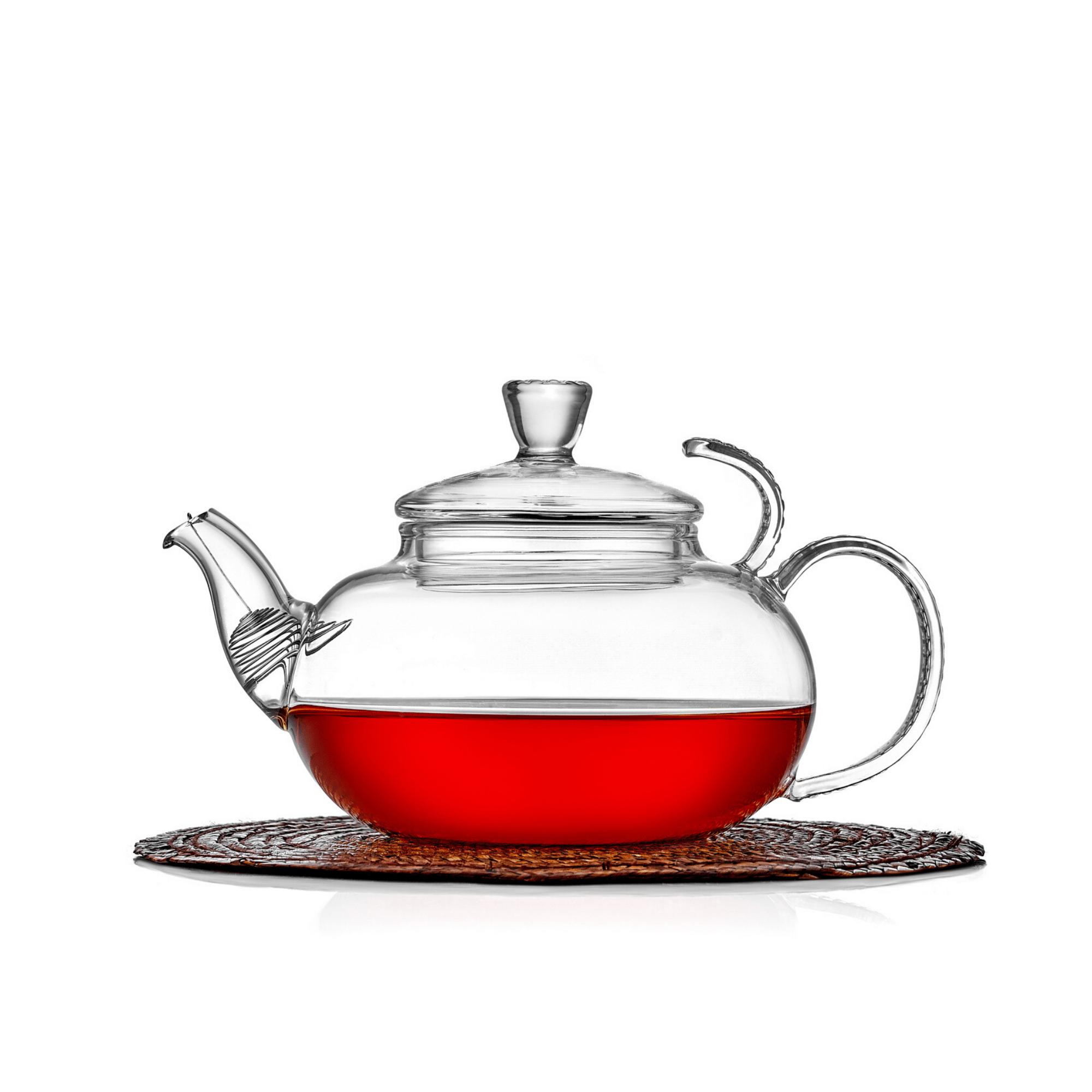 """Чайники заварочные стеклянные Заварочный чайник """"Клюква"""" 600 мл, стеклянный с фильтром в носике zavarochnyy-steklyannyy-chaynik-600-ml-teastar.png"""