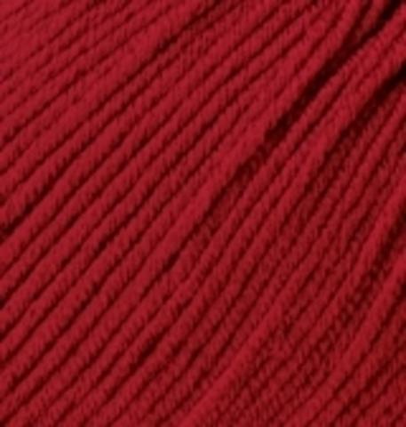 Пряжа Baby wool ( Alize) 106 темно-красный