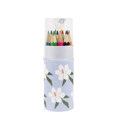 Набор цветных карандашей (12 шт.) Flowers