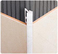 Уголок для плитки 10мм наружный многотонный