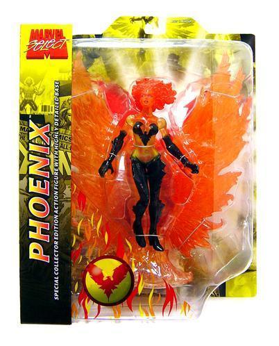 Марвел Селект фигурка Феникс — Marvel Select Phoenix (Fiery Version)