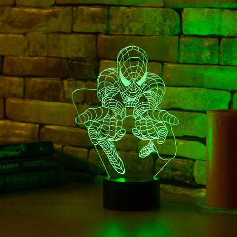 Лампа Человек паук #3