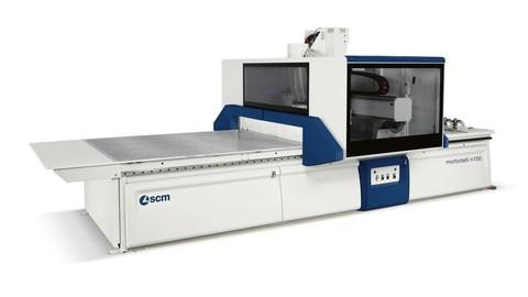 Обрабатывающий центр ч ЧПУ для нестинга SCM morbidelli n100