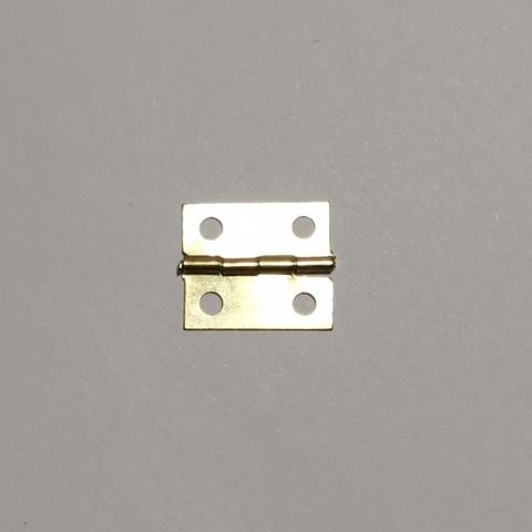 Набор 2 петли для шкатулки №034, 1,8х1,5, золото
