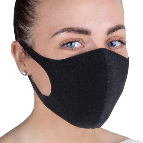 Soline Charms Многоразовая угольная маска (черная)