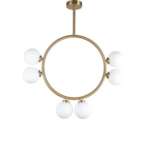 Потолочный светильник копия Circl by Atelier Areti 6 (золотой)