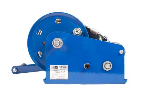 Лебедка ручная TOR ЛБ-2600 (BHW) г/п 1,0 т, длина троса 10 м, шт