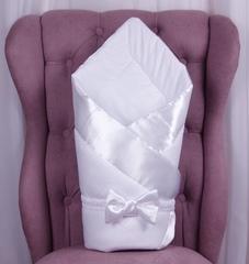 Демисезонный конверт  Beauty (белый)