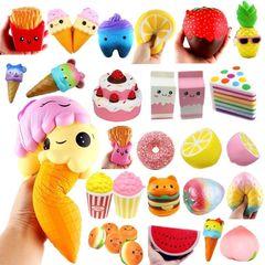 Сквиши (Squishy) игрушки-антистресс