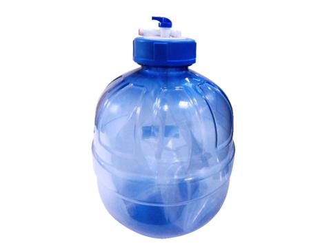 Прозрачный пластиковый накопительный бак Гейзер RO 12л (3,2 gal)