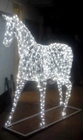 Световая фигура Конь