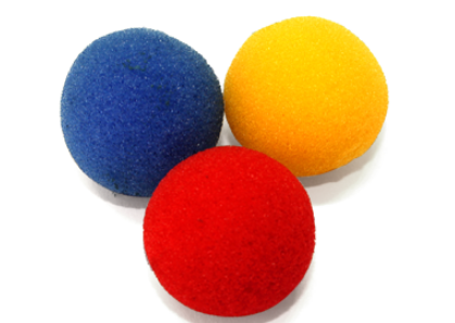 Поролоновые шарики (Super Soft Sponge) - 3 см