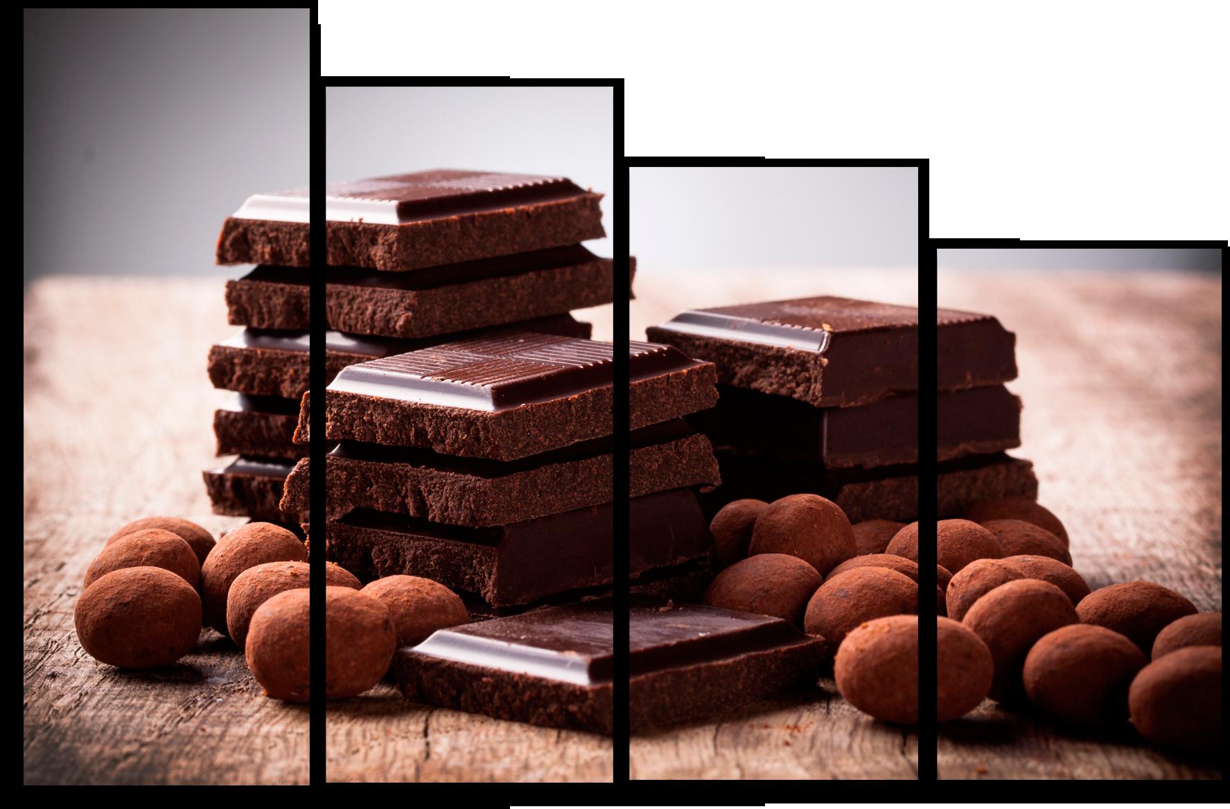 """Модульные картины Модульная картина """"Настоящий шоколад """" М661.png"""