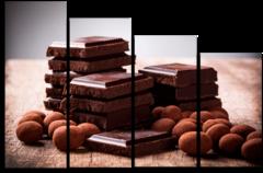 "Модульная картина ""Настоящий шоколад """