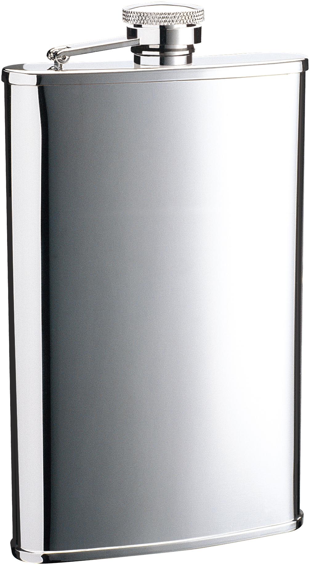 Итальянская фляга S.QUIRE «Silver» цена