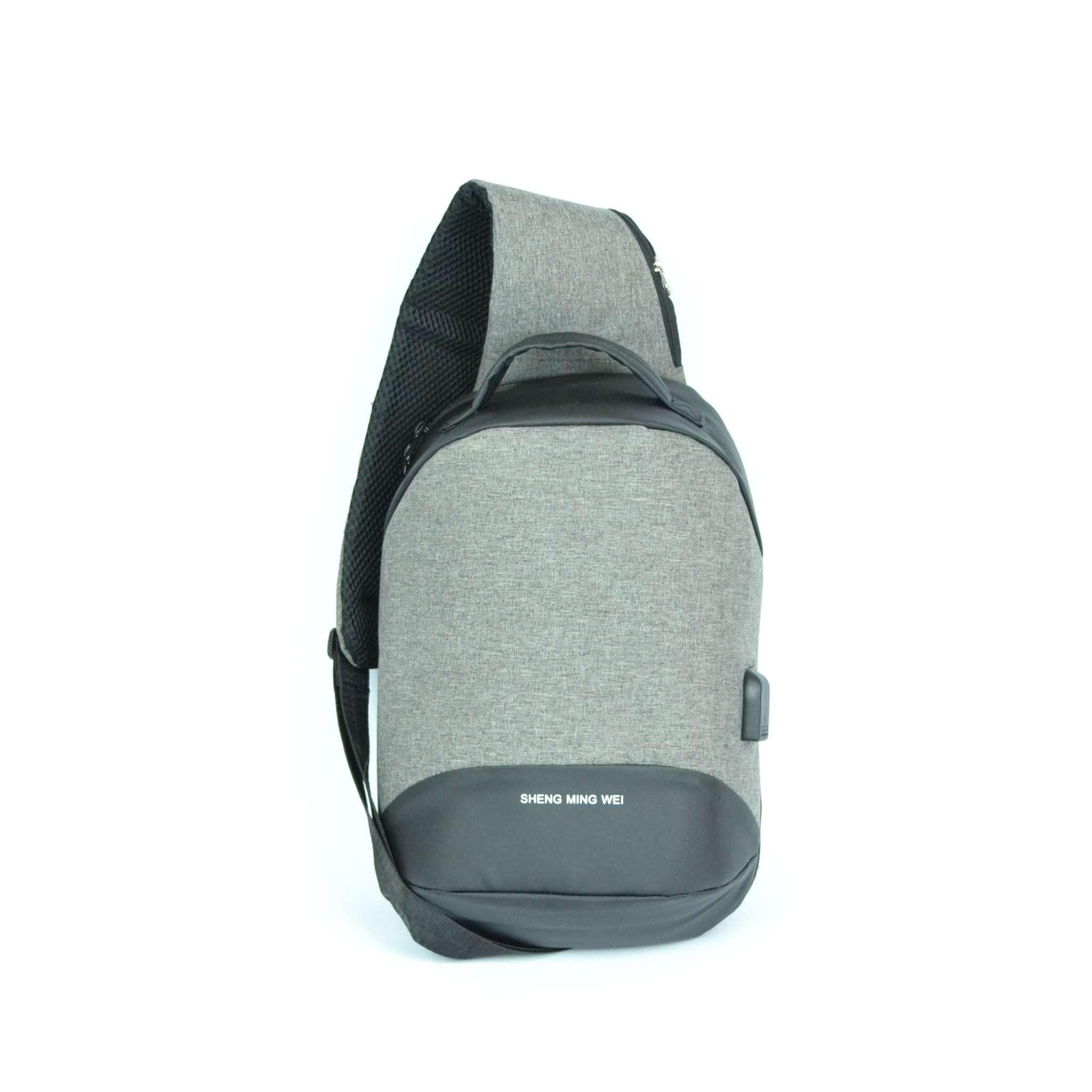 Рюкзак-сумка Sling Bag через плечо, c USB-разъемом
