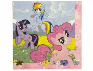 Салфетка My Little Pony 33см 16шт