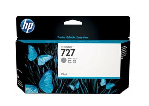Картридж струйный HP B3P24A (№727) серый