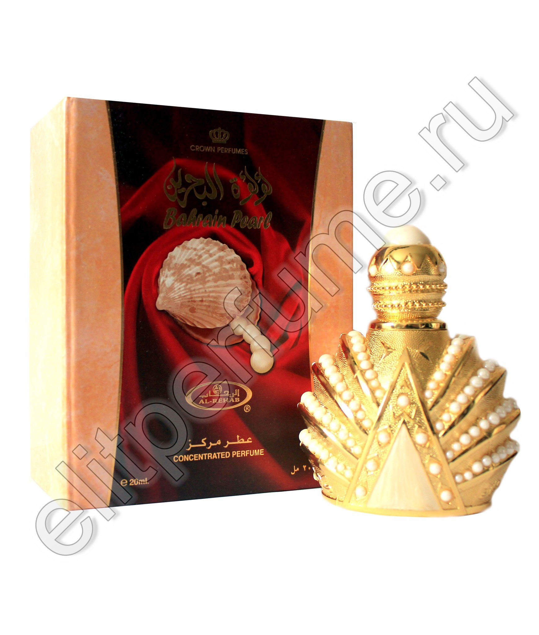 Пробник для Bahrain Pearl 1 мл арабские масляные духи от Аль Рехаб Al Rehab