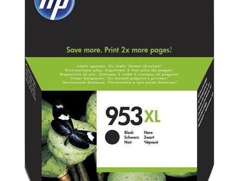 Картридж №953XL черный для HP OfficeJet Pro 8710, 8715, 8720, 8725, 8730, 8210. Ресурс 2000 стр (L0S70AE)