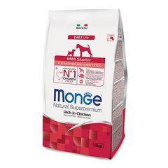 Monge Dog Mini Starter корм для щенков мелких пород 1,5кг