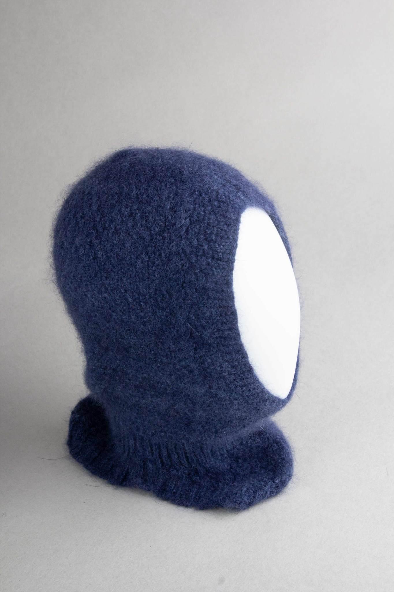 Шлем для малыша из шерсти ангоры