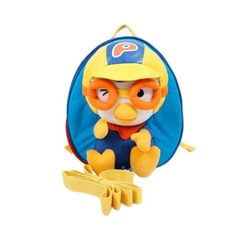 Портфель CHARACTER WORLD Pororo Safety Harness Backpack Bag #Blue