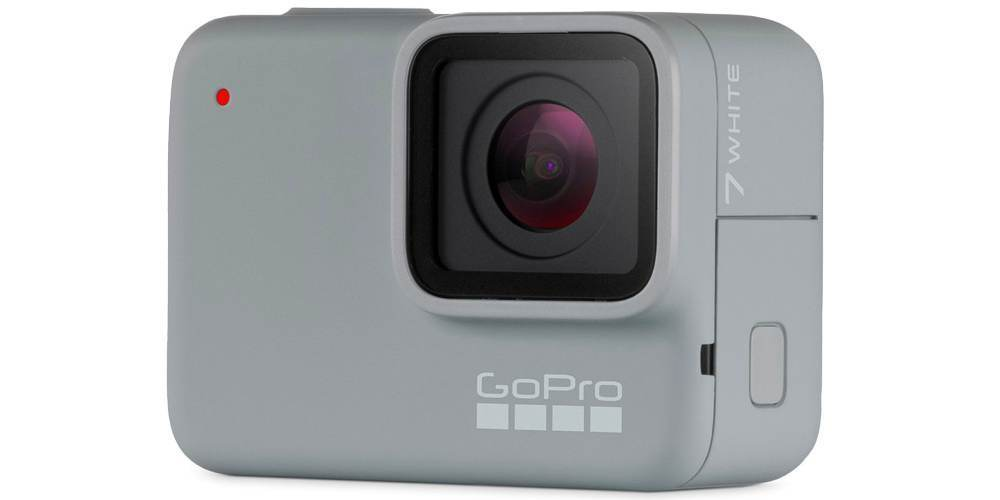 Экшн-камера GoPro HERO7 White Edition (CHDHB-601-LE) вид сбоку