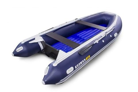 Надувная ПВХ-лодка Солар - 420 Jet Tunnel (синий)