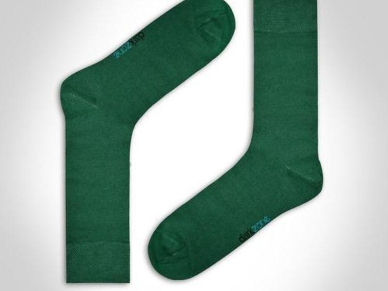 Носки мужские - набор из 3 пар (красные, темно-синие, зеленые) DARKZONE DZCP3203