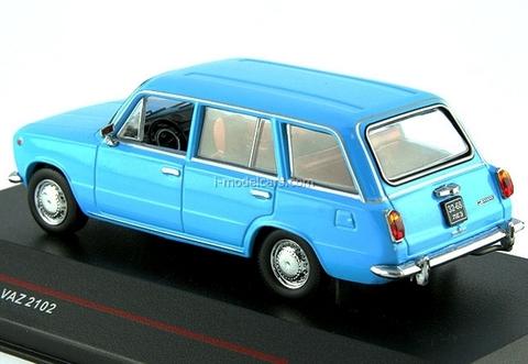 VAZ-2102 Lada Jiguli blue 1972 IST110 IST Models 1:43