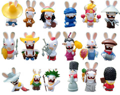 Rayman Raving Rabbids Action Figures