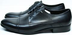 Классические туфли мужские Икос 2235-1 black