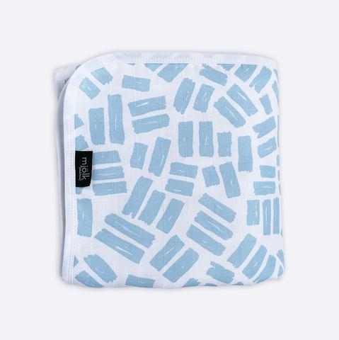 Муслиновое утеплённое одеяло Mjölk Краски