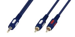 Шнур Luxmann 3.5 Stereo(п) - 2RCA(п) 3м