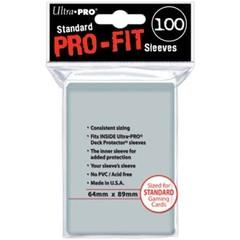 Ultra Pro - Внутренние прозрачные протекторы (perfect fit) 100 шт
