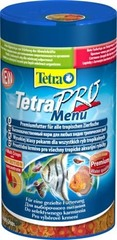 """Корм для всех видов рыб, TetraPro Menu, """"4 вида"""" чипсов, 250 мл"""