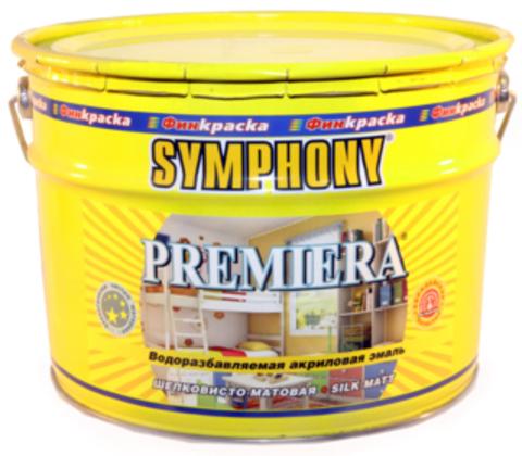 PREMIERA – акриловая влагостойкая эмаль с эффектом пластика