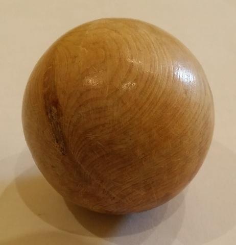 Можжевеловый шар гладкий