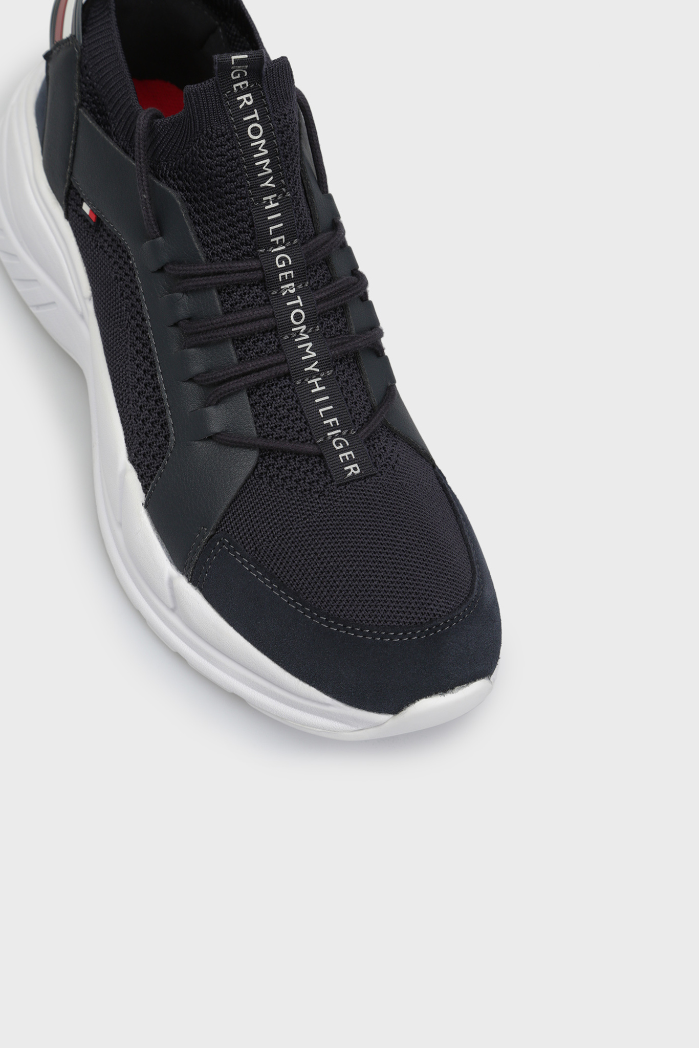 Мужские темно-синие кроссовки Tommy Hilfiger