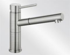 Смеситель Blanco Alta-S Compact нержавеющая сталь