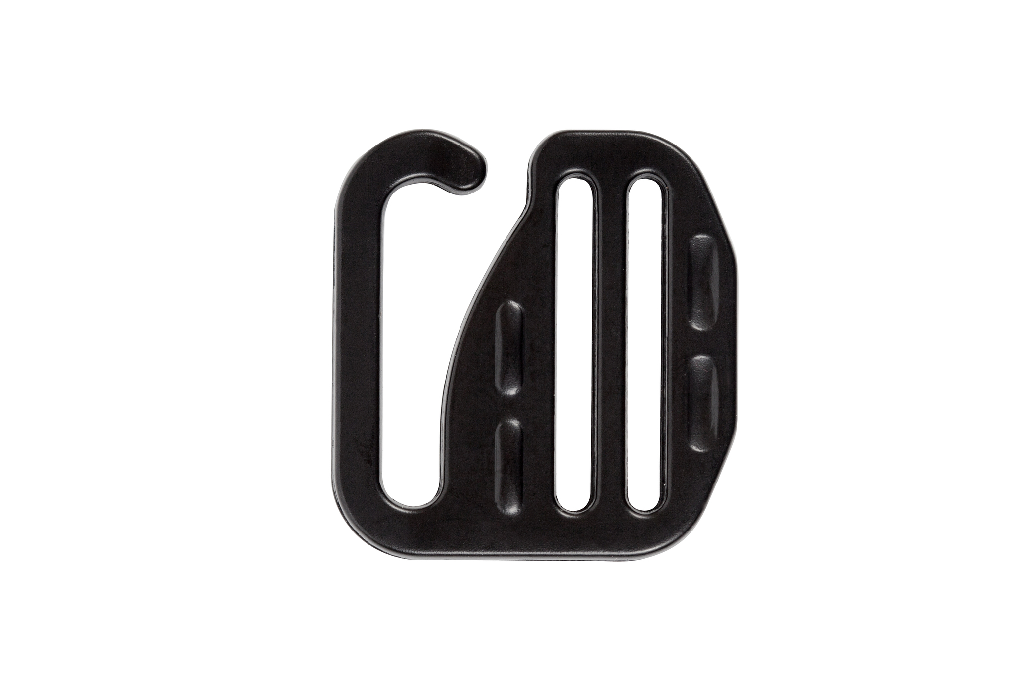 Карабин G hook 25 мм, черный матовый