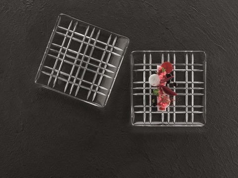 Набор из 2-х квадратных блюд, артикул 101909. Серия Square