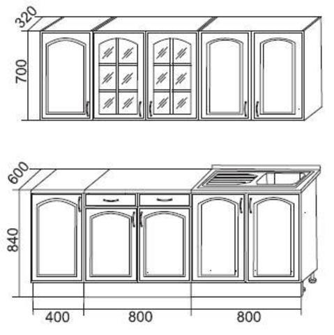 кухня Классика 2000