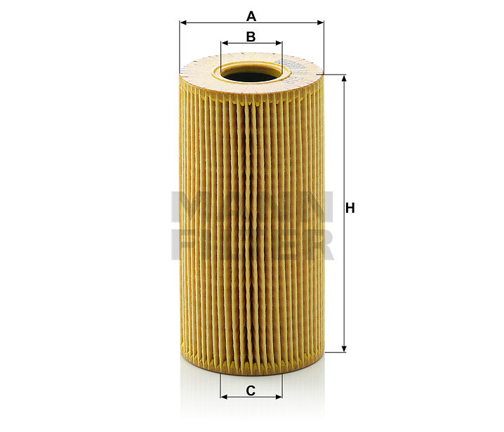 Фильтр масляный MANN HU 618 X