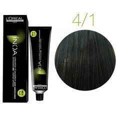 L'Oreal Professionnel INOA 4.1 (Шатен пепельный) - Краска для волос