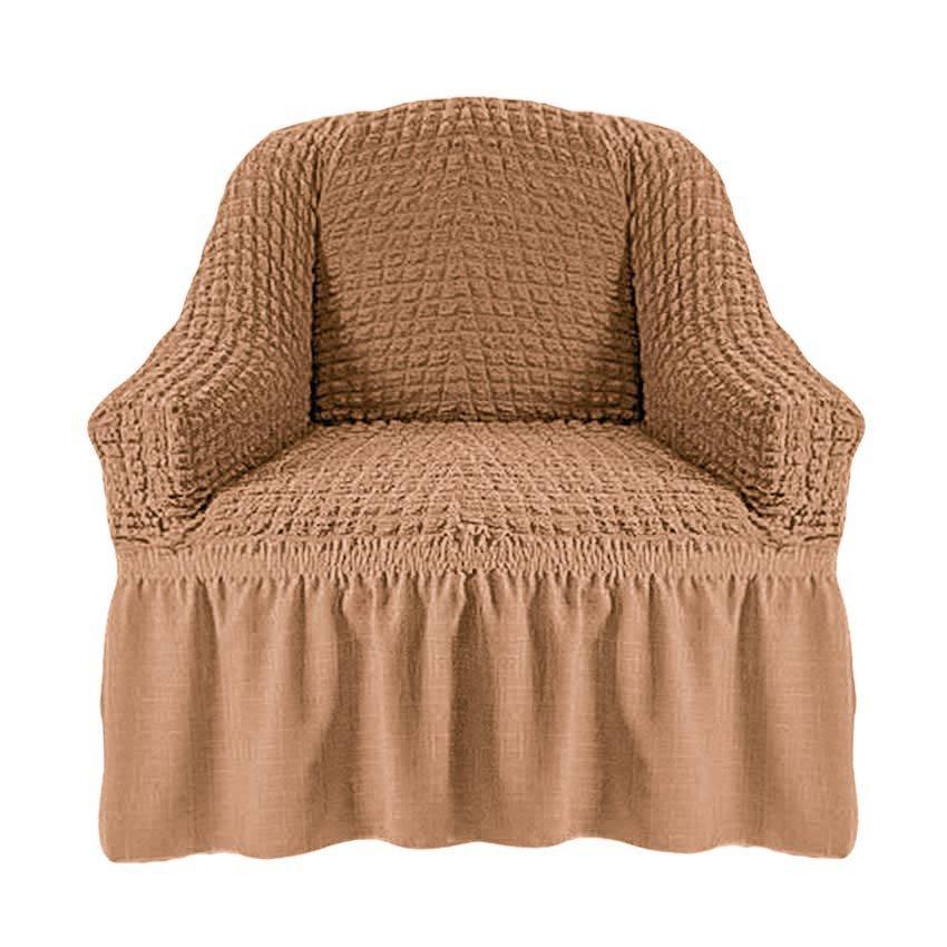 Чехол на кресло, песочный