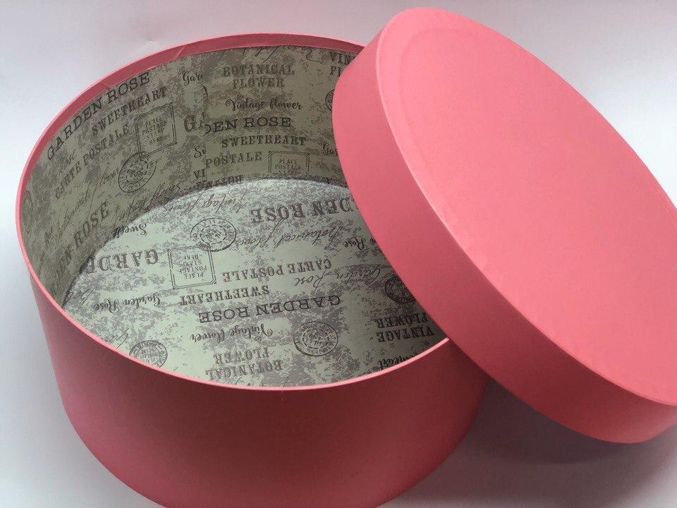 Короткая коробка D 32 см . Цвет: Розовый. Розница 450 рублей .
