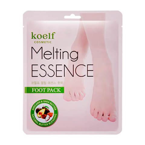 Маска-носочки для ног смягчающая Koelf Melting Essence Foot Pack
