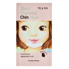 Etude House Black Charcoal Chin Pack - Полоска очищающая для подбородка